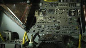 アポロ月着陸船内