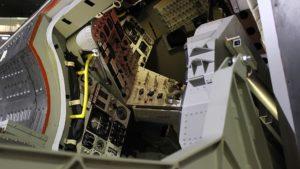 ジェミニ宇宙船のコックピット