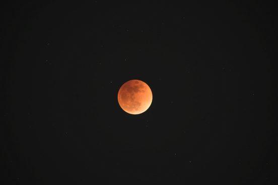 皆既月食2018