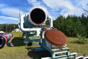 能代ロケット実験場の真空燃焼実験設備
